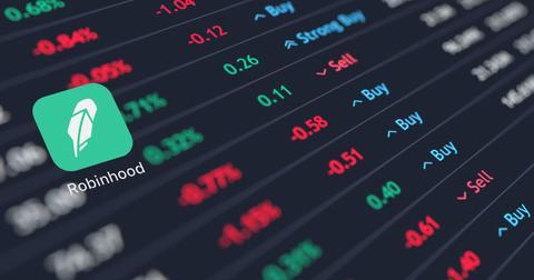 Reading Level 2 Market Data on Robinhood