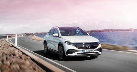 Mercedes-Benz new EV sedan.