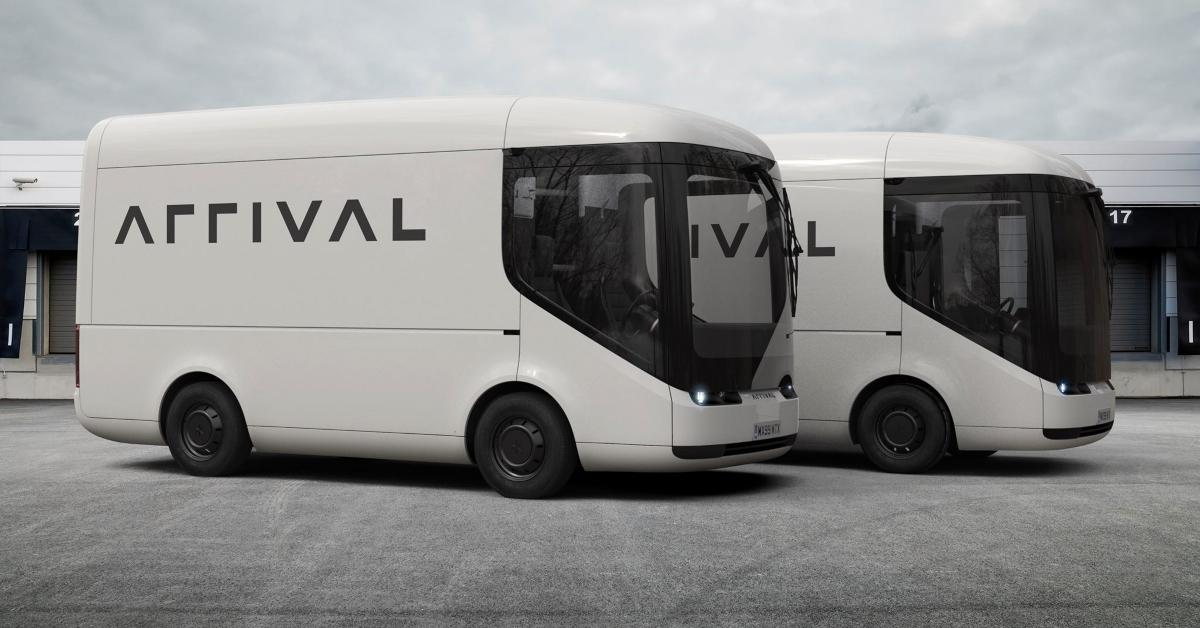 Arrival buses