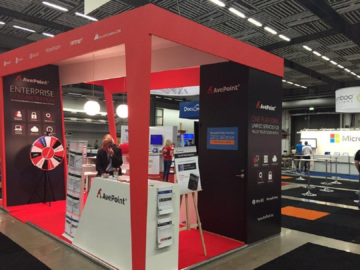 An AvePoint booth