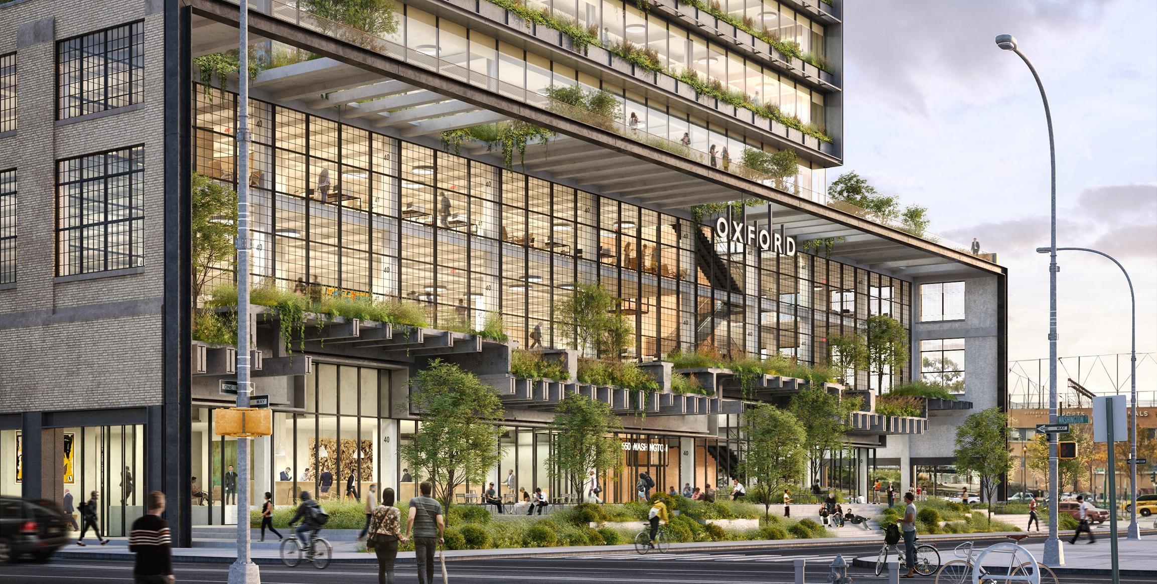 Google building New York City