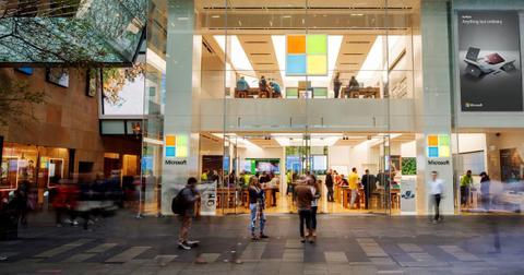 boutique Microsoft