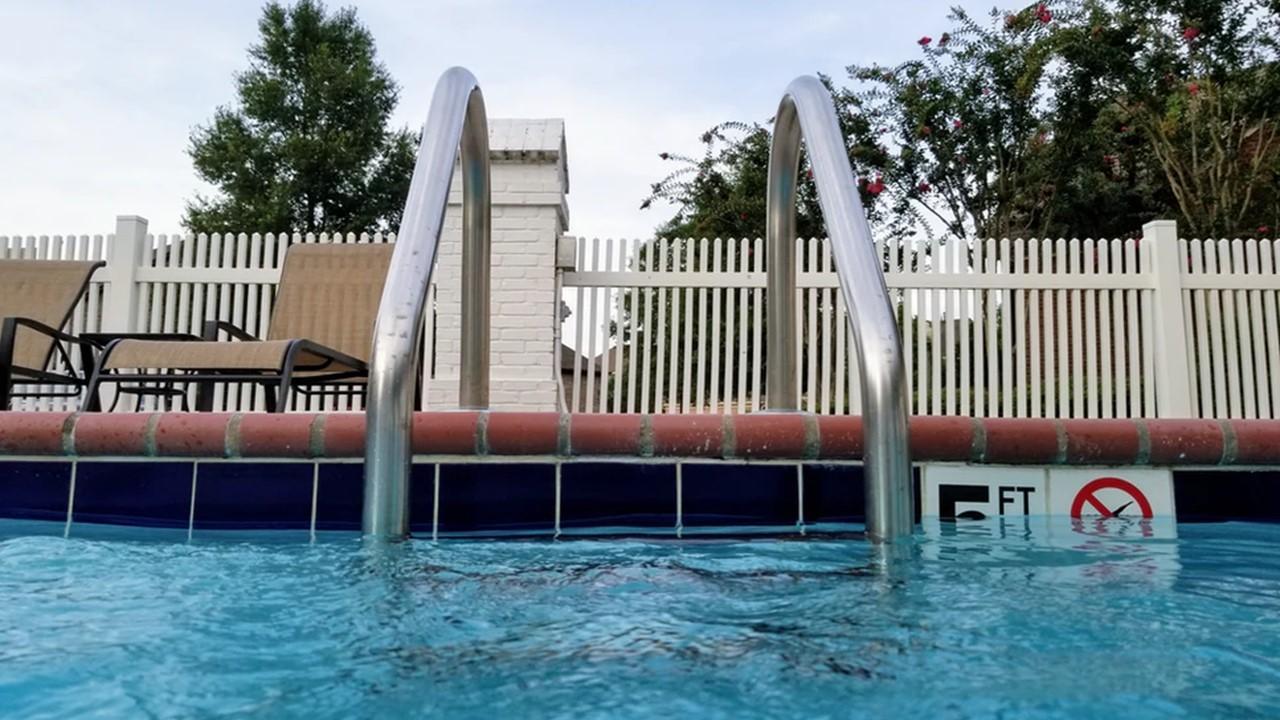 piscines et chlore