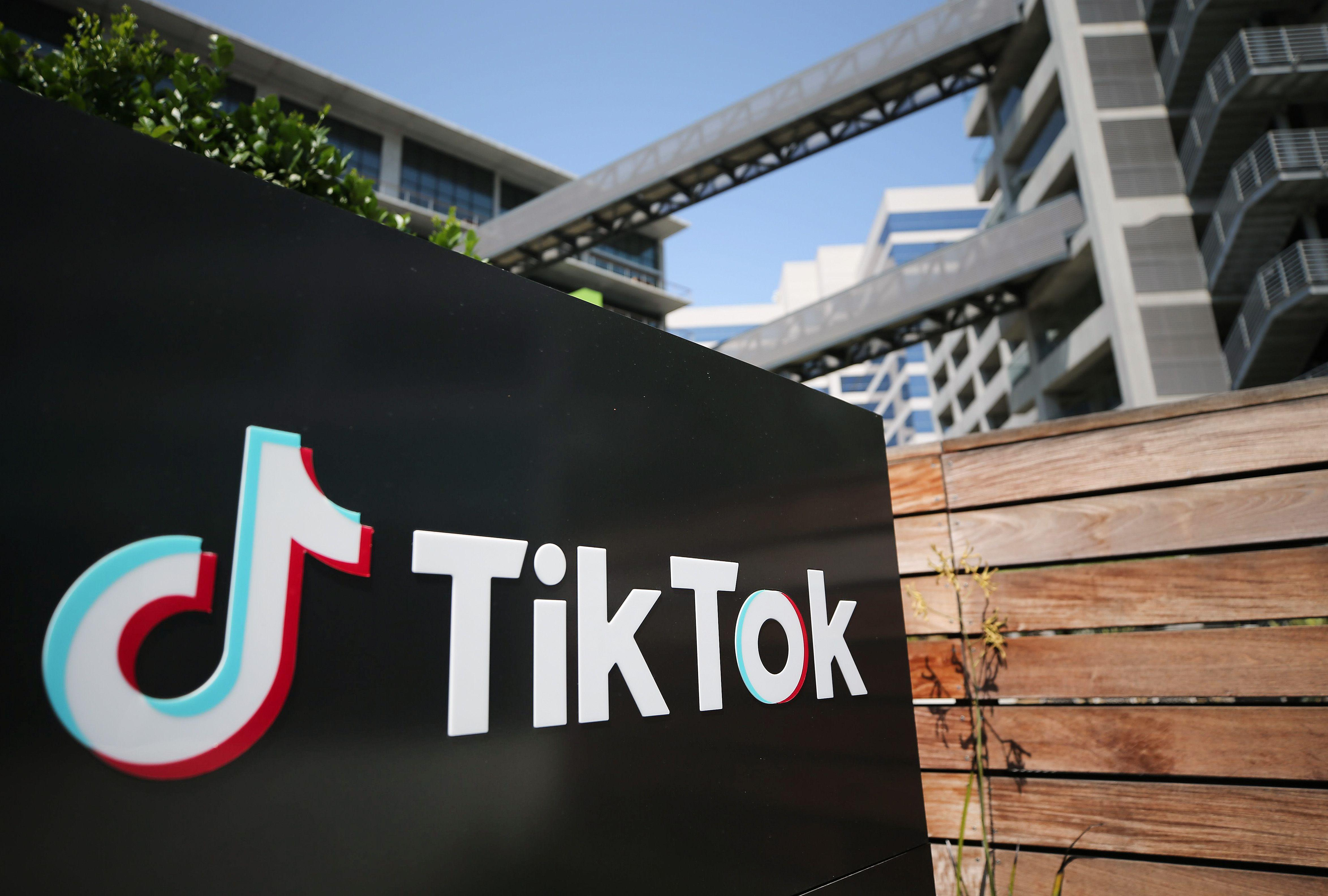 TikTok is owned by Chinese company ByteDance.