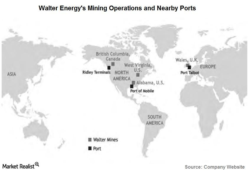 Walter Energy mining ops