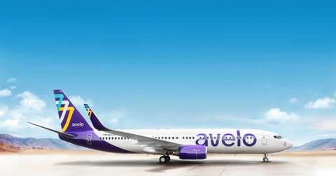 Avelo Airlines airplane