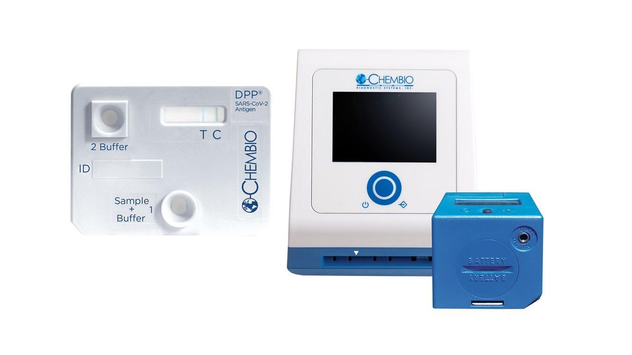 Chembio Diagnostics COVID-19 test