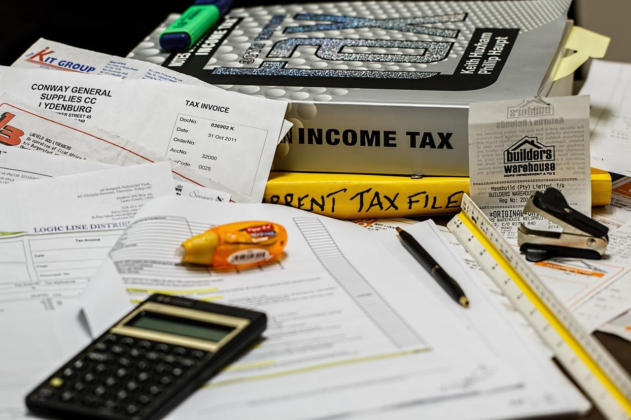 Tax paperwork for FICA taxes