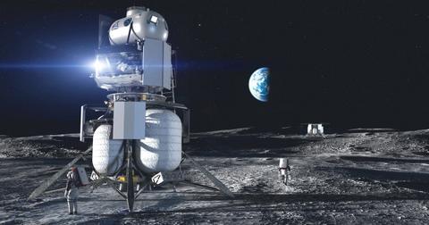 exploration spatiale d'origine bleue