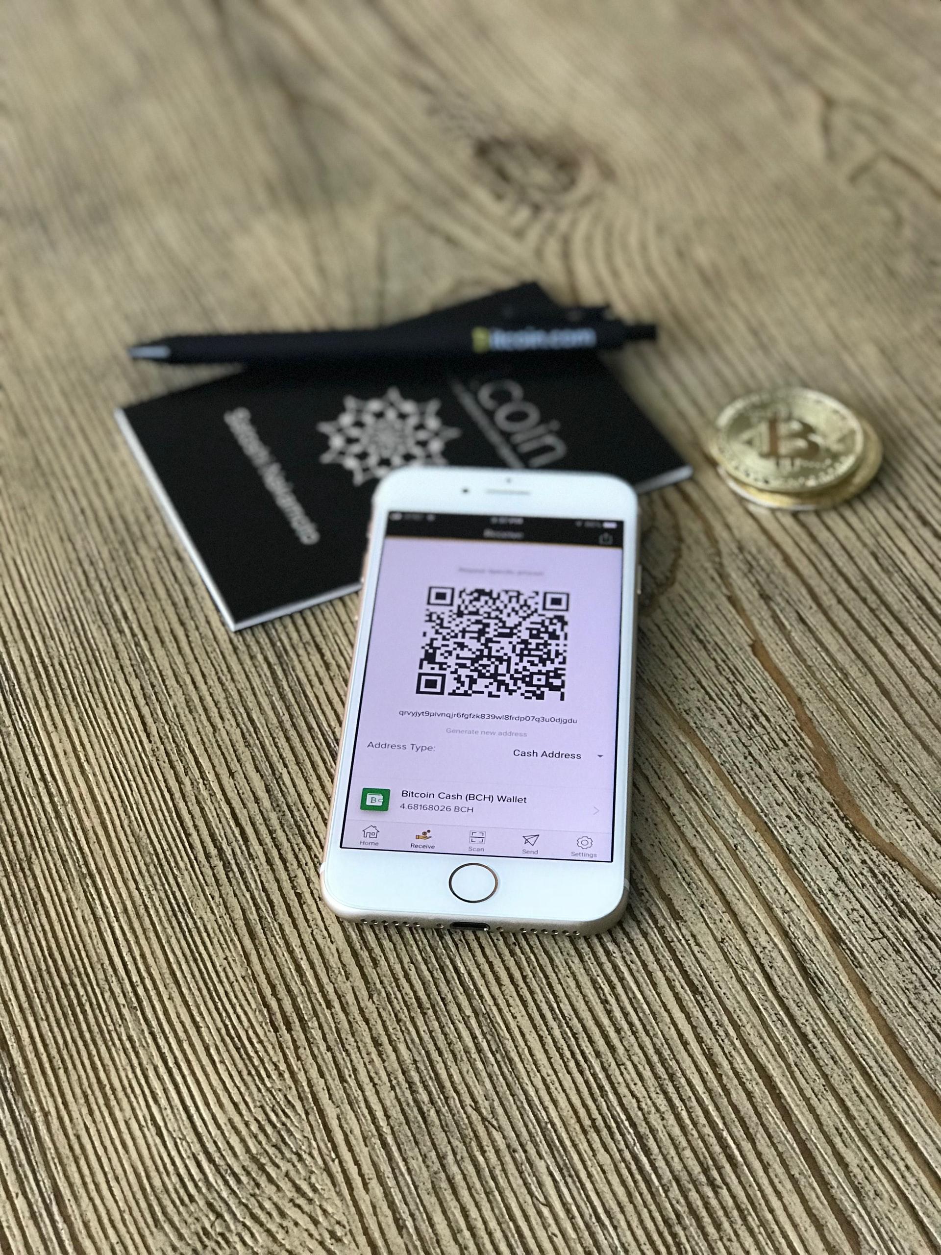 A payment platform on a smartphone