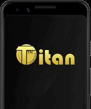 Titan coin logo