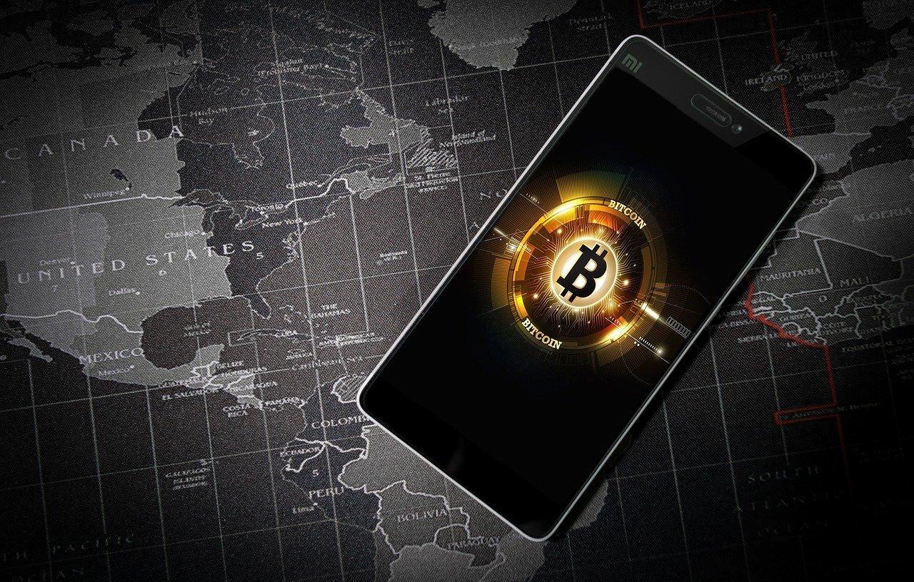 Bitcoin on a smartphone