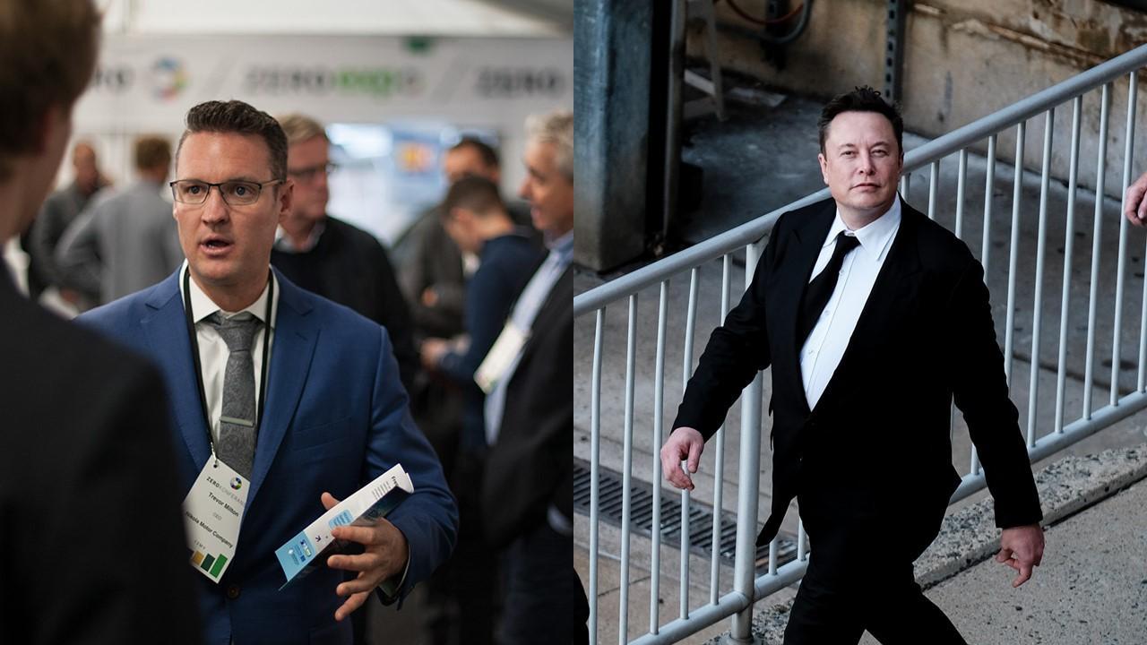 Trevor Milton and Elon Musk