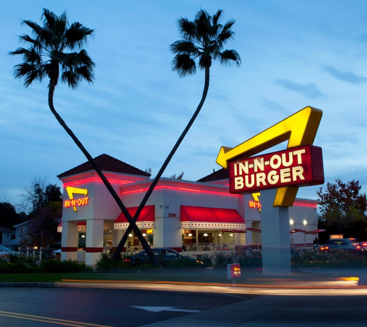 In-N-Out Burger a restaurant