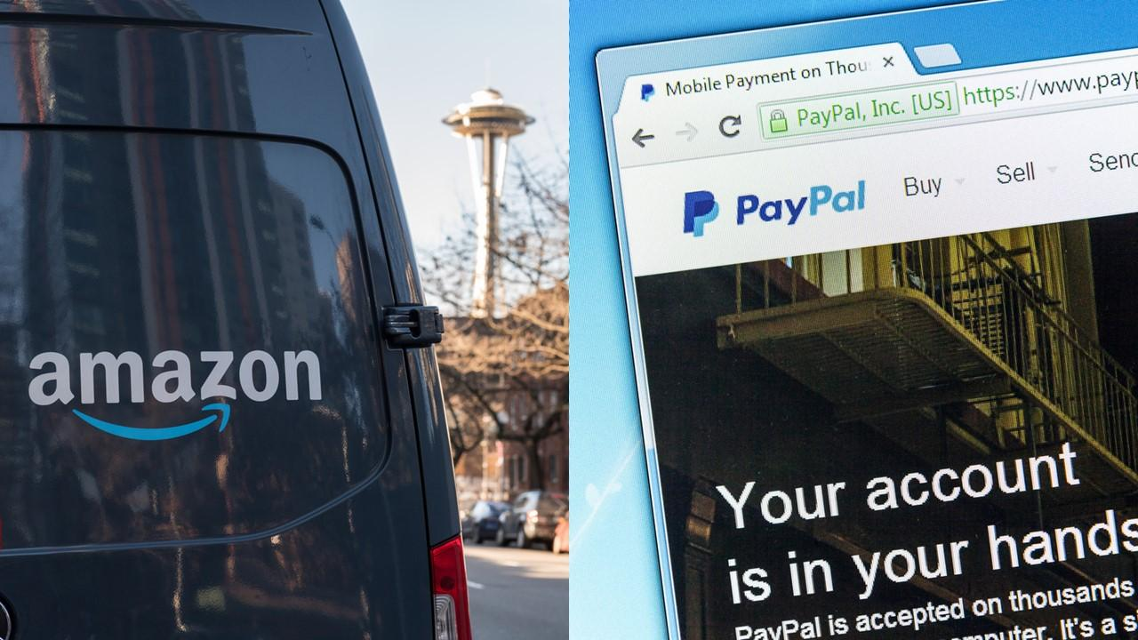 can paypal be used on amazon
