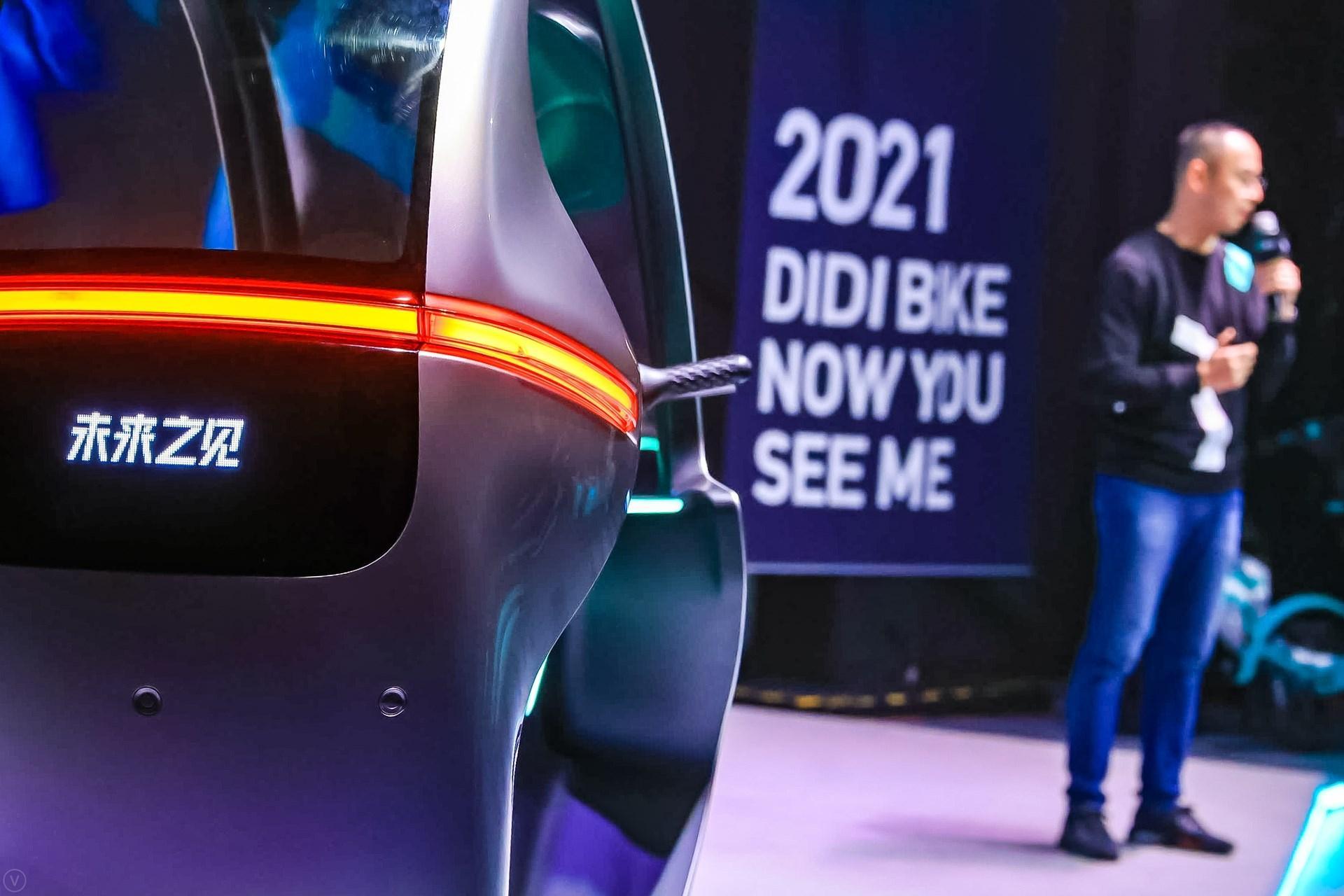 DiDi Global expo of new bike