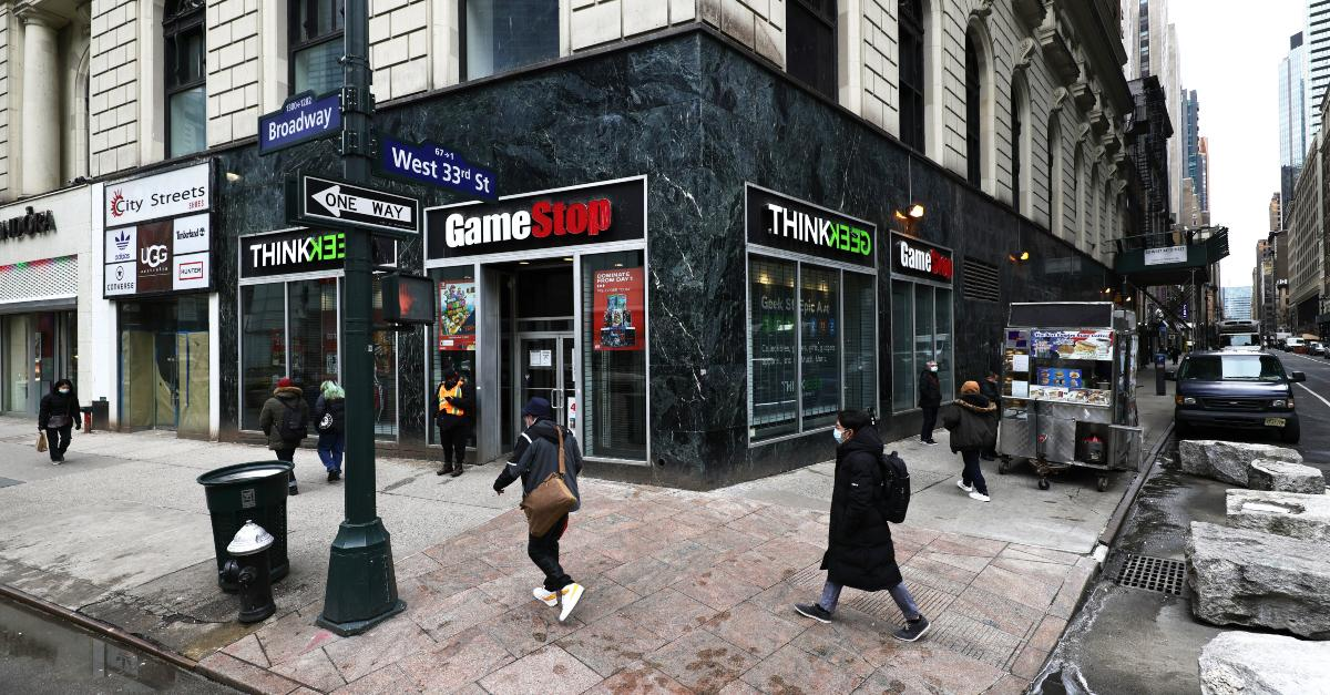 GameStop store in Manhattan