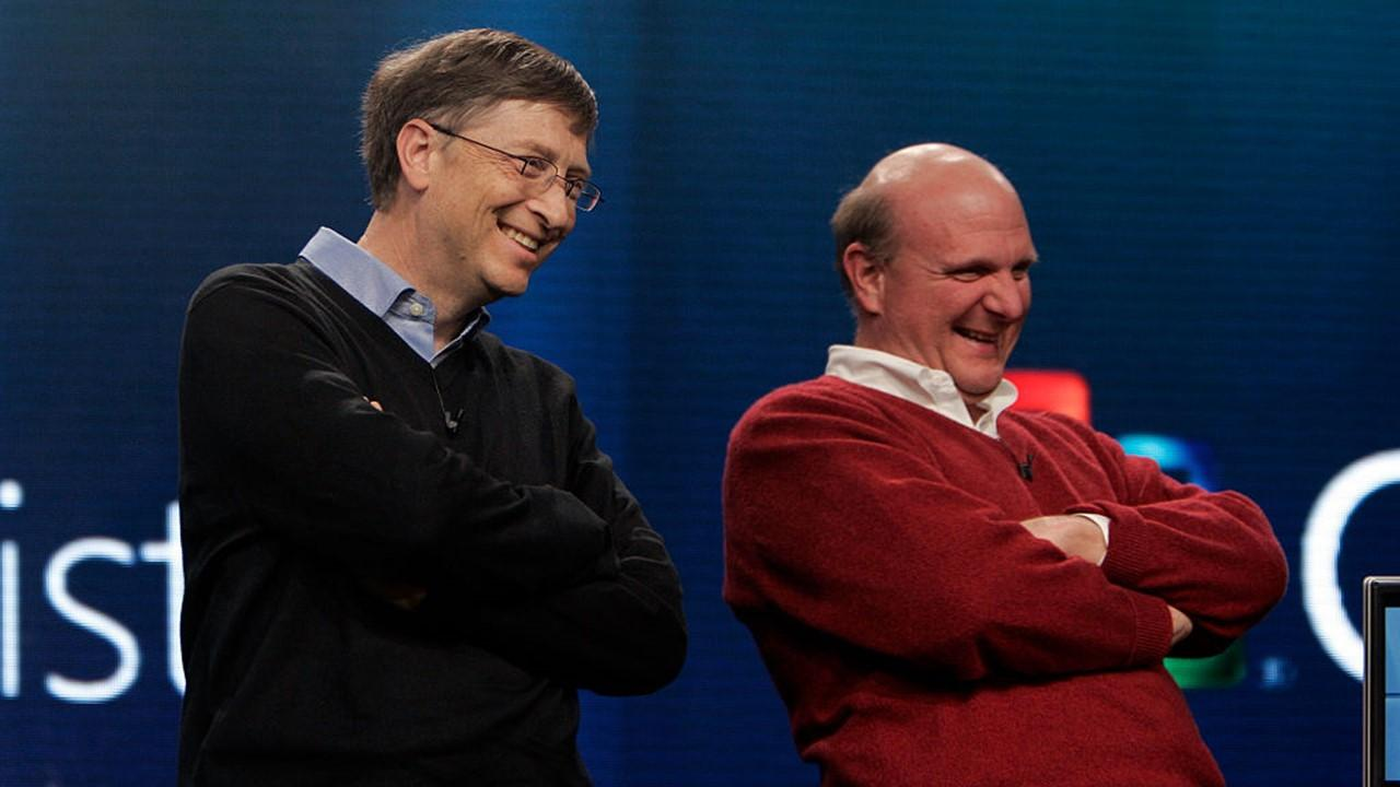 are steve ballmer bill gates friends