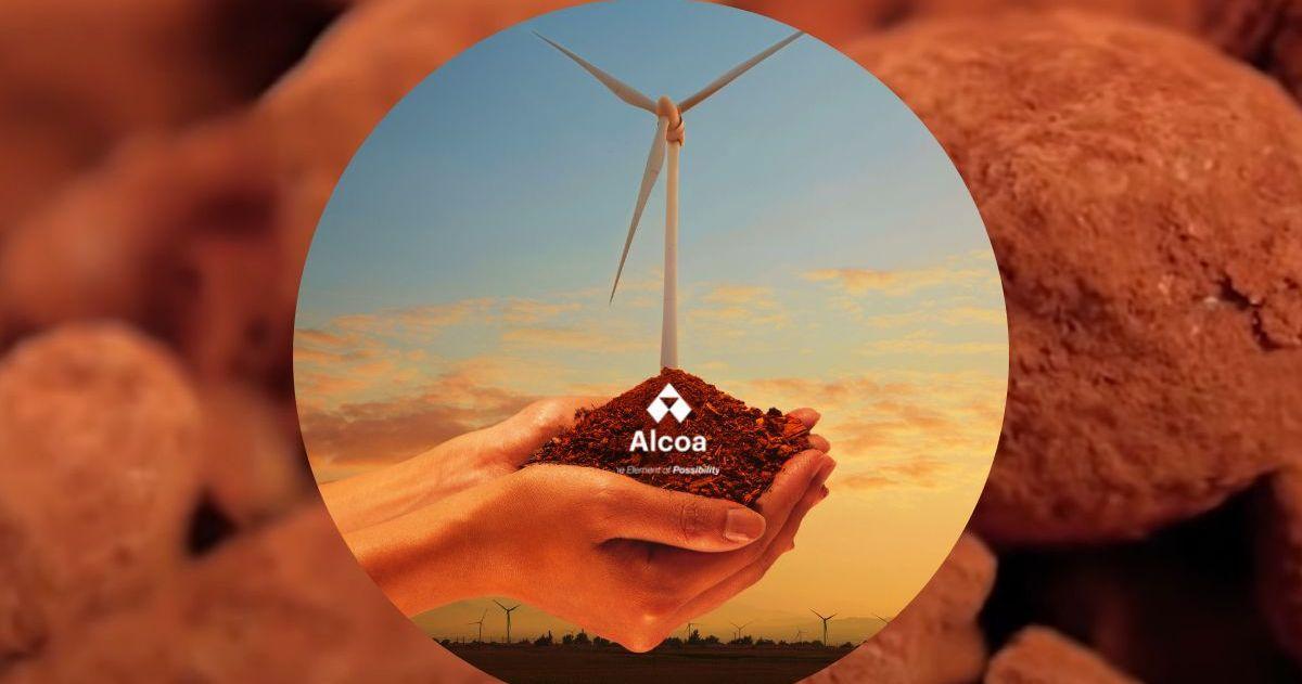 Alcoa logo with windmill