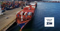 ZIM Shipping Container Vessel