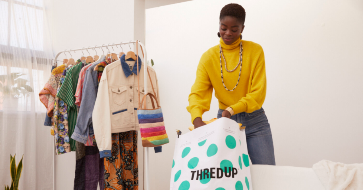 Recently IPOed clothing reseller thredUp