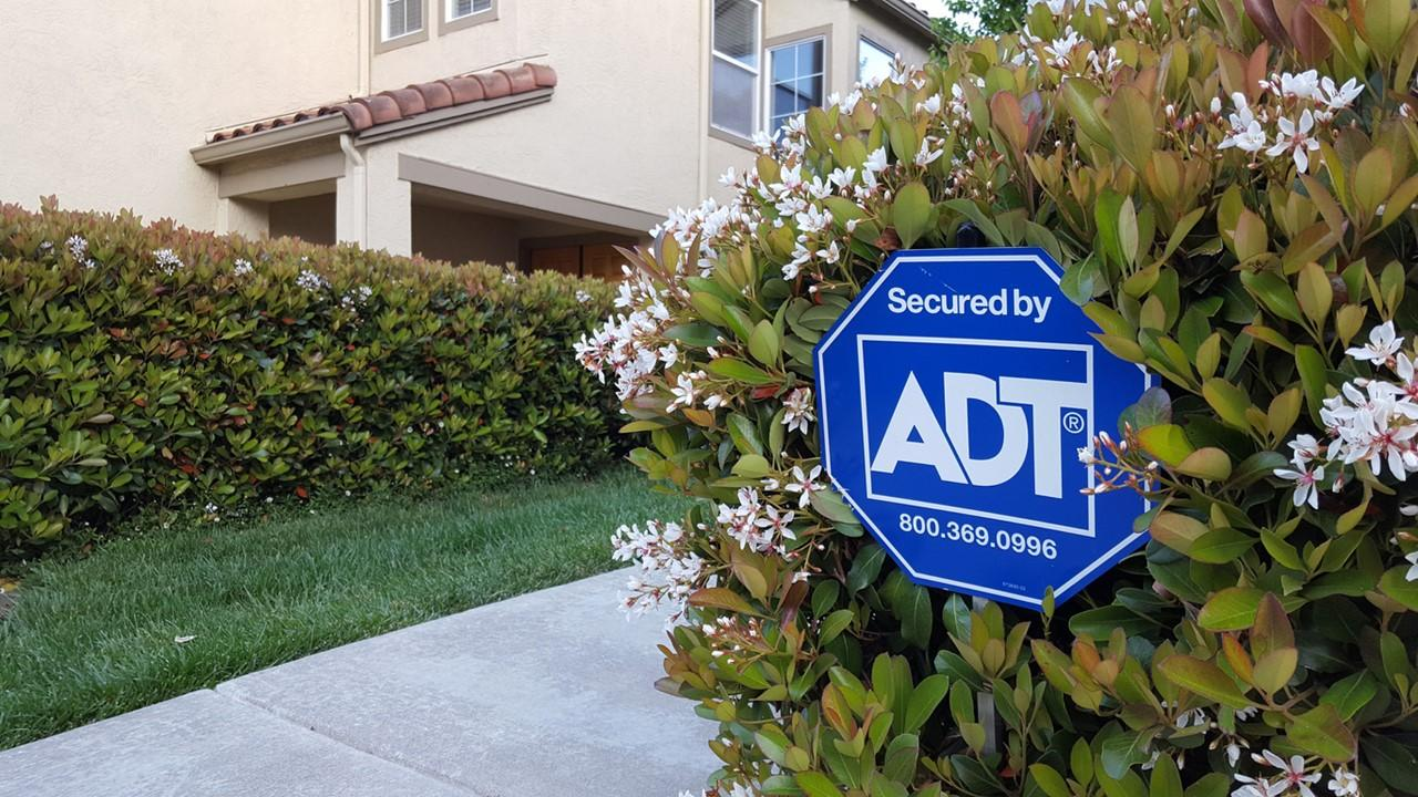 adt google home security