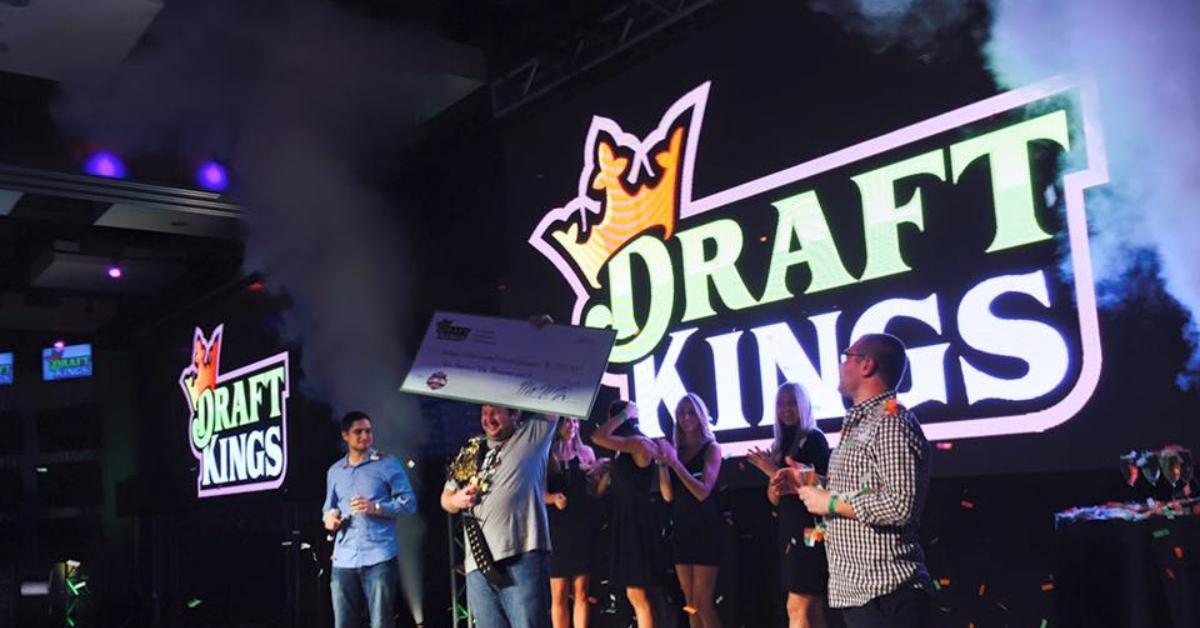 DraftKings online gambling event