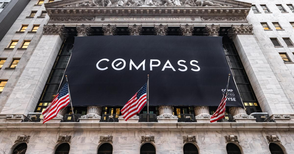 Compass listing on the NYSE