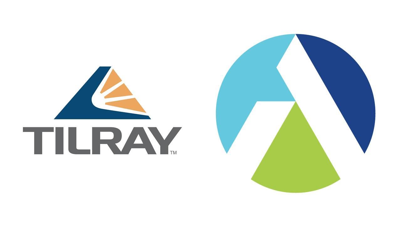 Tilray and Aphria logos