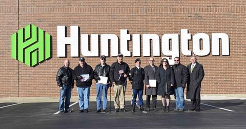 Fermeture des banques Huntington